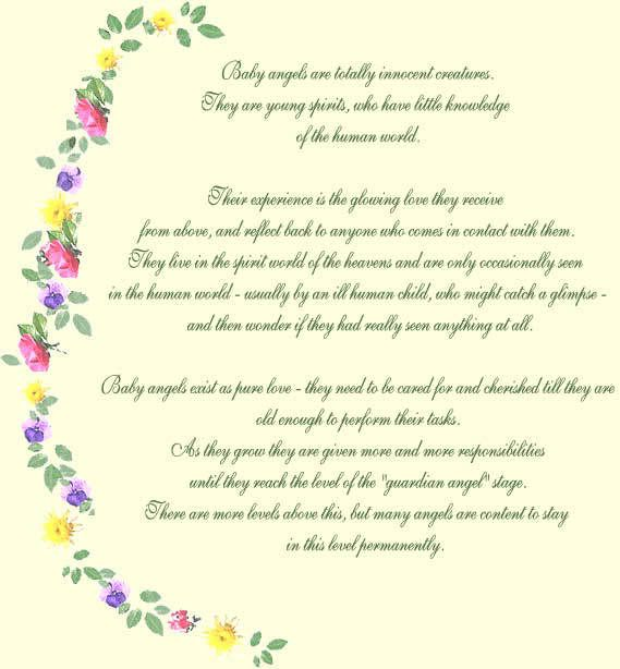 Baby Guardian Angel Quotes: Poem, Angel And