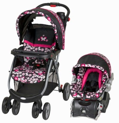 Baby Trend Butterfly Travel System Baby Trend Stroller Baby Car Seats Baby Strollers