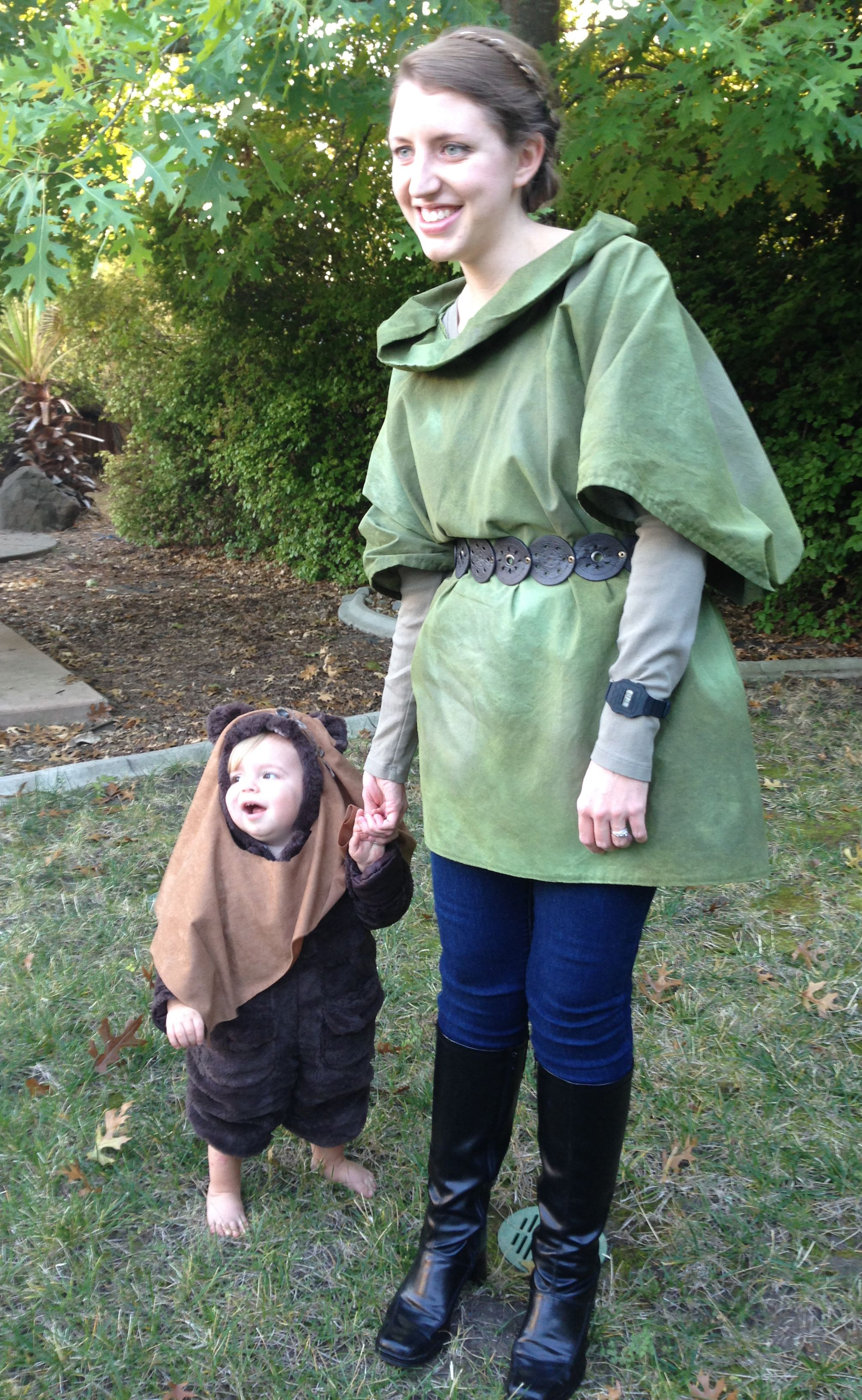 Happy Halloween from baby ewok!  sc 1 st  Pinterest : baby leia costume  - Germanpascual.Com