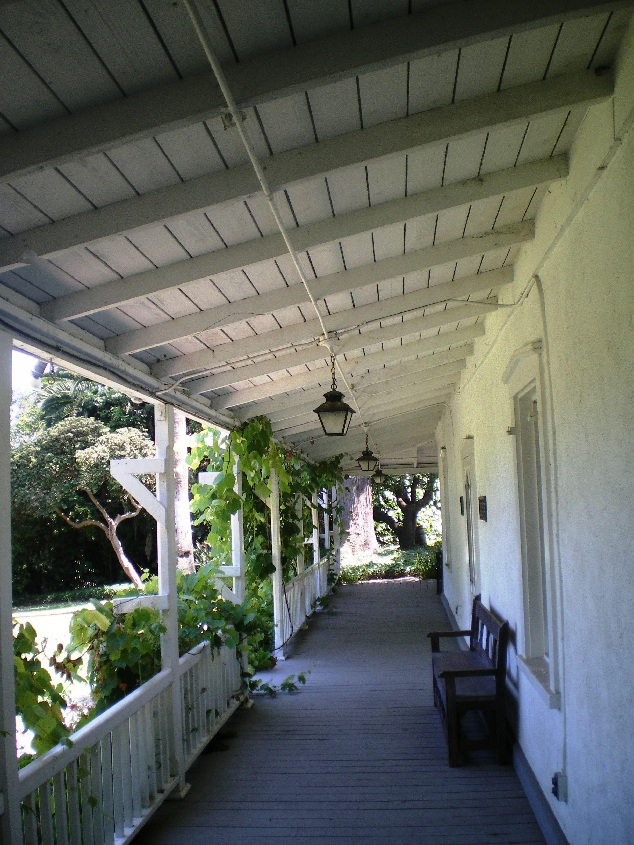 File:Centinela Adobe, Front Porch.JPG - Wikimedia Commons