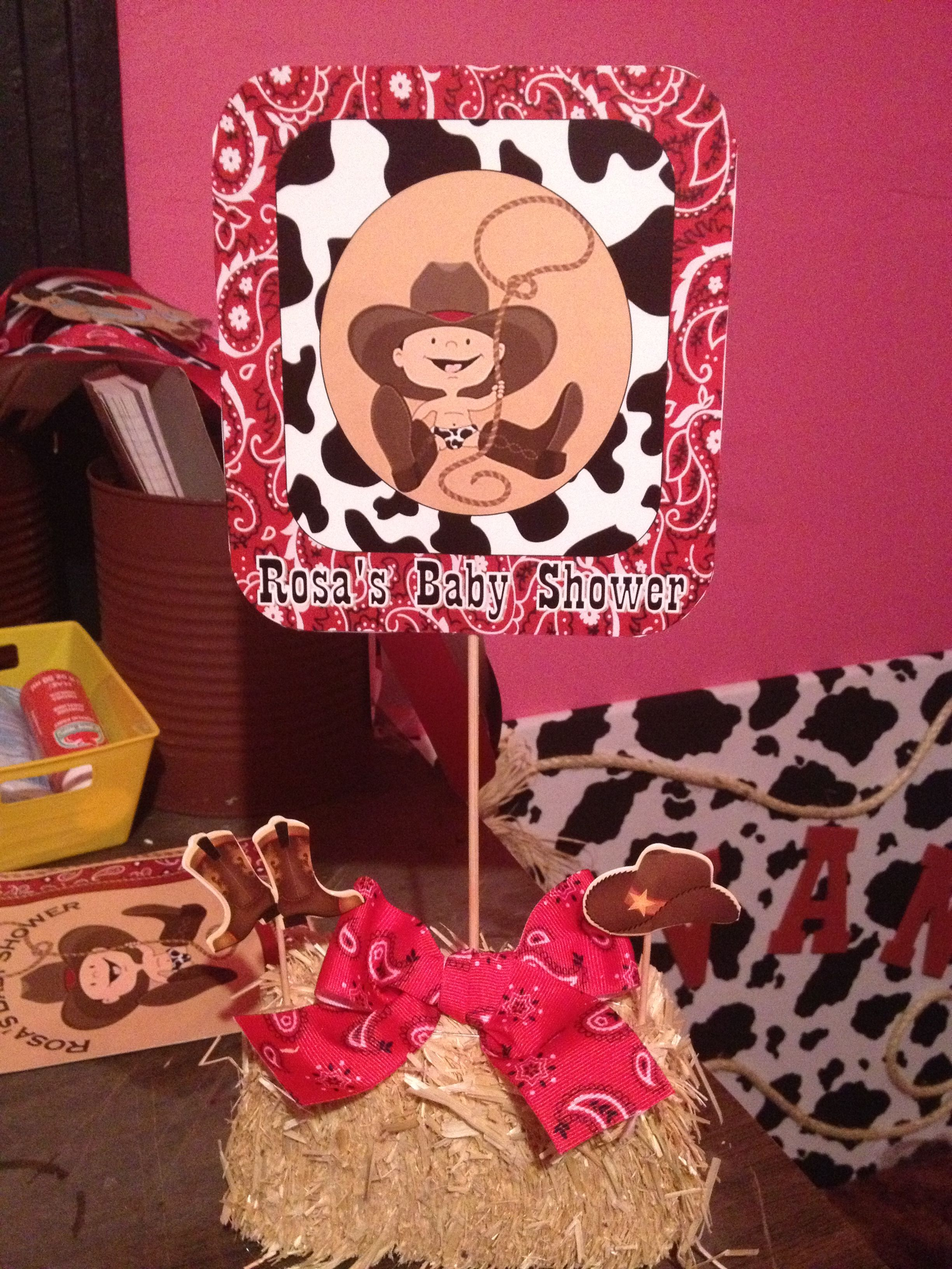 Little Cowboy Baby Shower | Western Theme | Pinterest | Cowboy baby ...