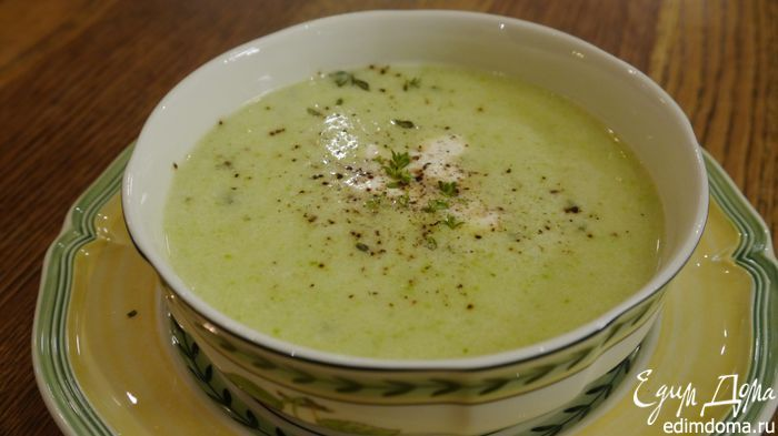 рецепт супа из кабачков от юлии высоцкой