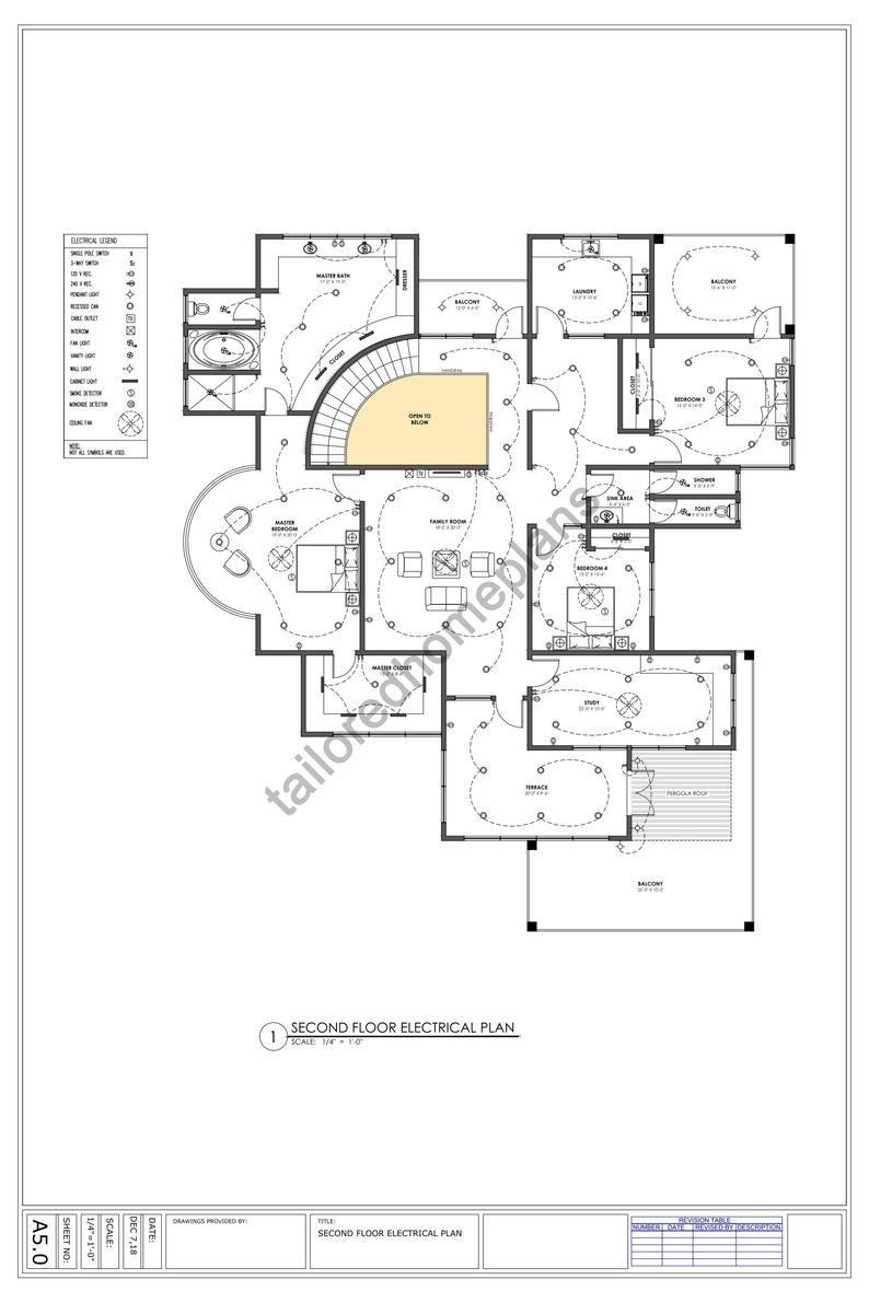 5 Bedroom House Plan Digital File Luxury Floor Plan Architect Dwg File Modern Architectural Floor Plans Contemporary Home In 2021 Luxury Floor Plans Architectural Floor Plans 5 Bedroom House Plans
