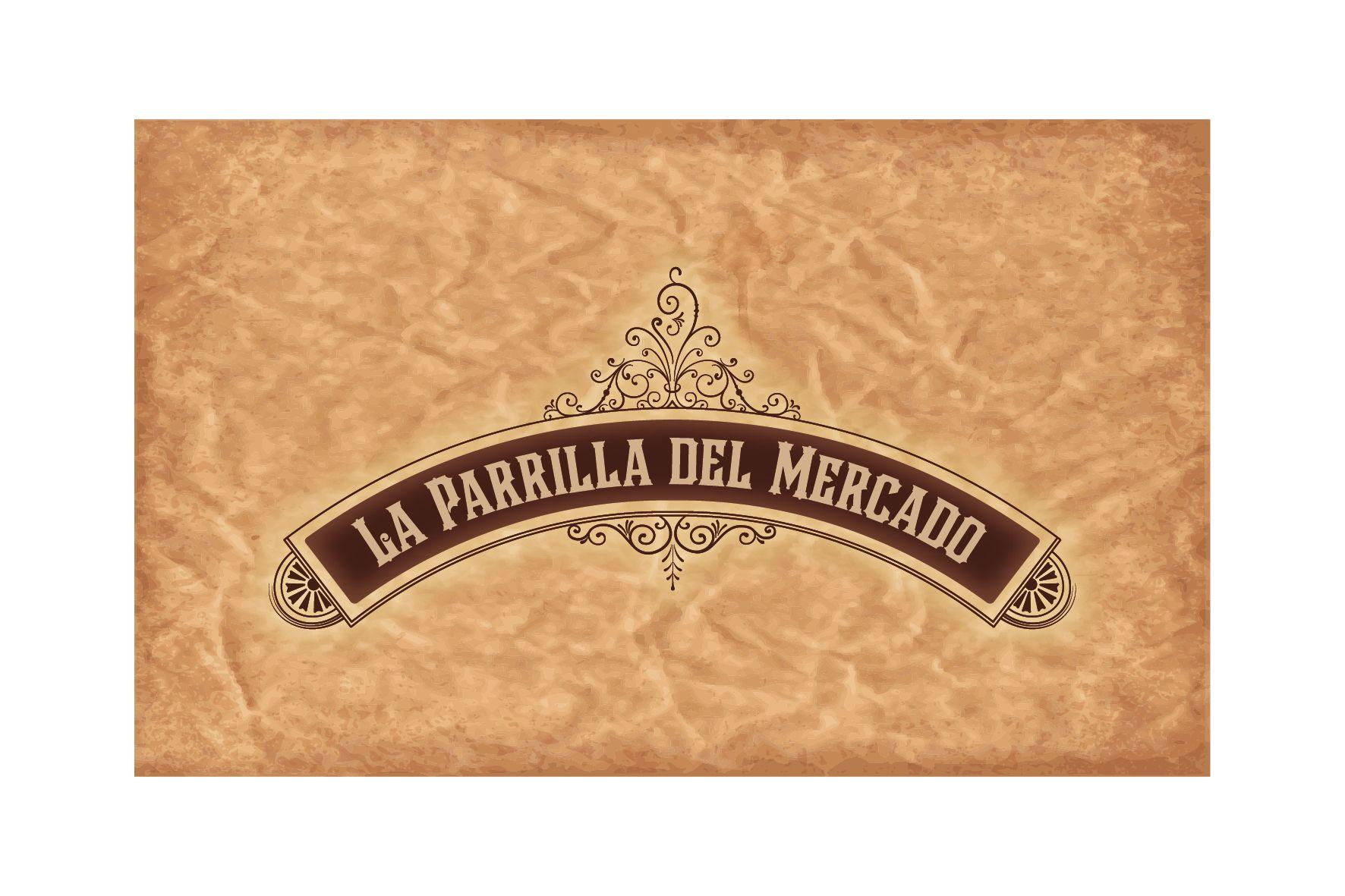 """Logo """"La Parrilla del Mercado"""" Churrascaria"""