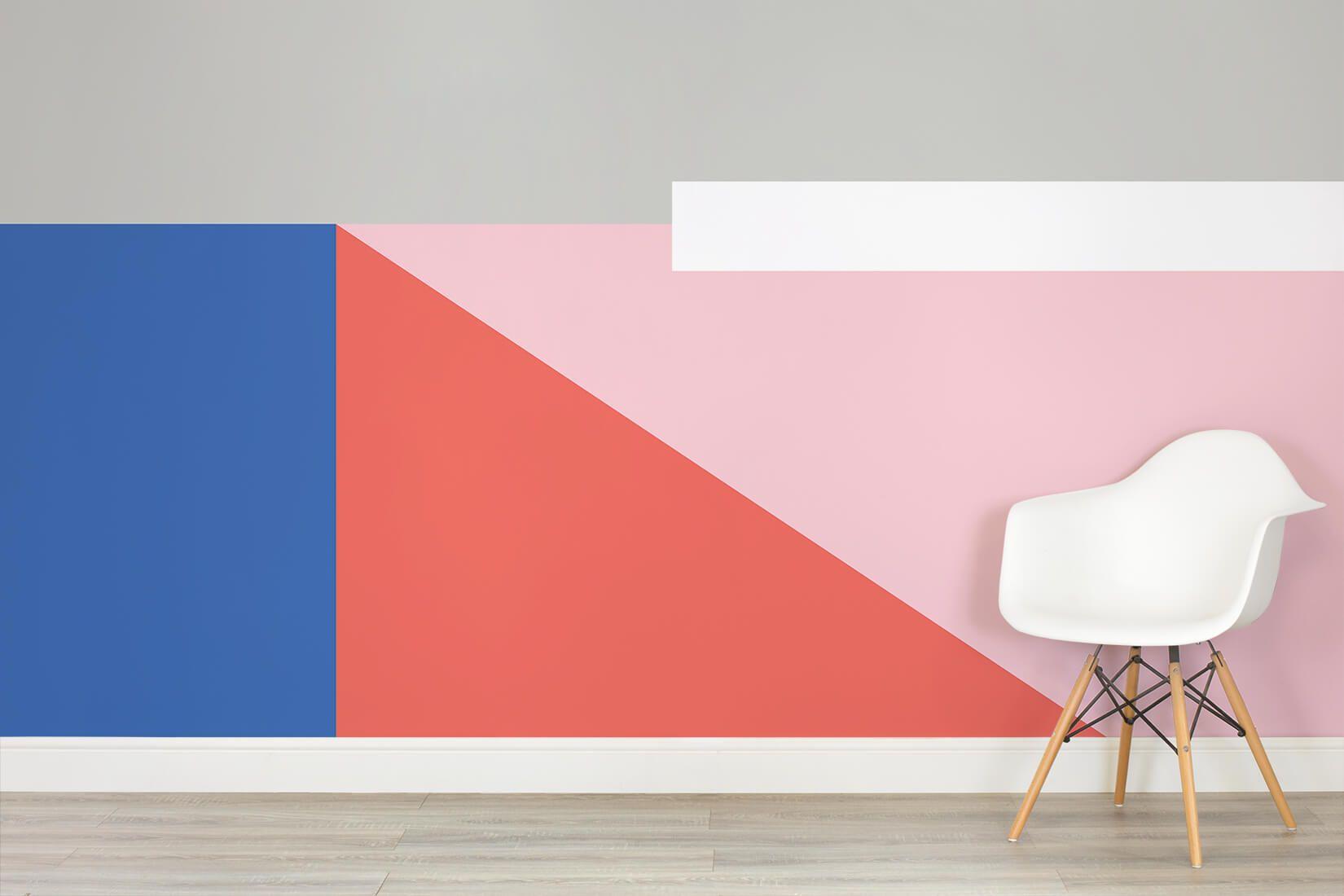 lauinger color block wallpaper mural murals wallpaper in on office wall colors 2021 id=34536