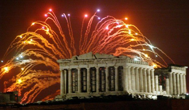 Celebrating New Years Eve 2015 In Athens Greece Greece Holiday Visiting Greece Athens Greece