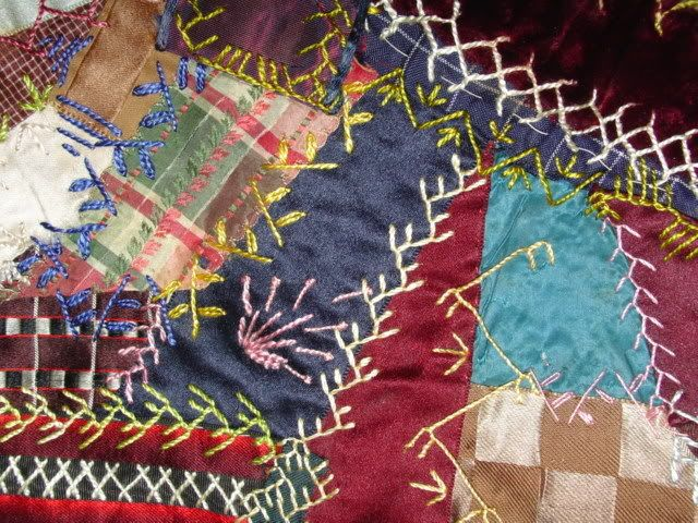 Crazy Quilting Stitches Patterns : Quilt Papers: