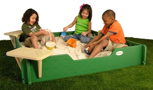 5' x 5' Sandbox Kit Constructive Playthings