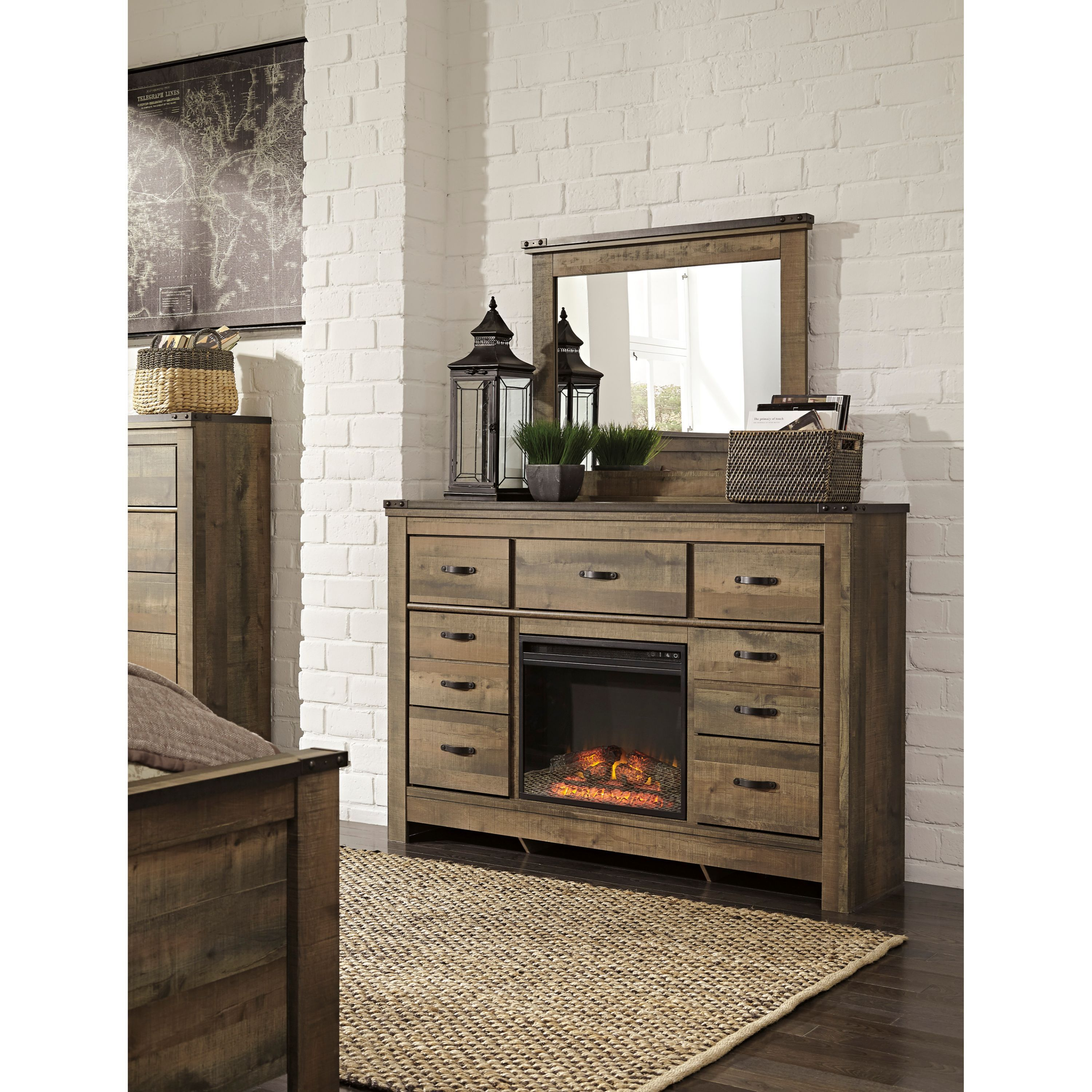 Signature Design by Ashley Trinell Brown Dresser with