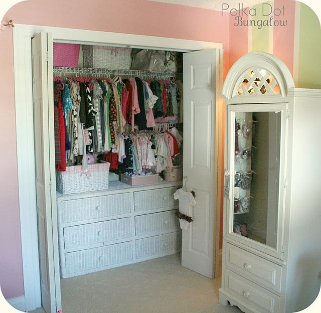 Put A Dresser In A Closet For Small Children Decoracion De Unas Dormitorios Closeths