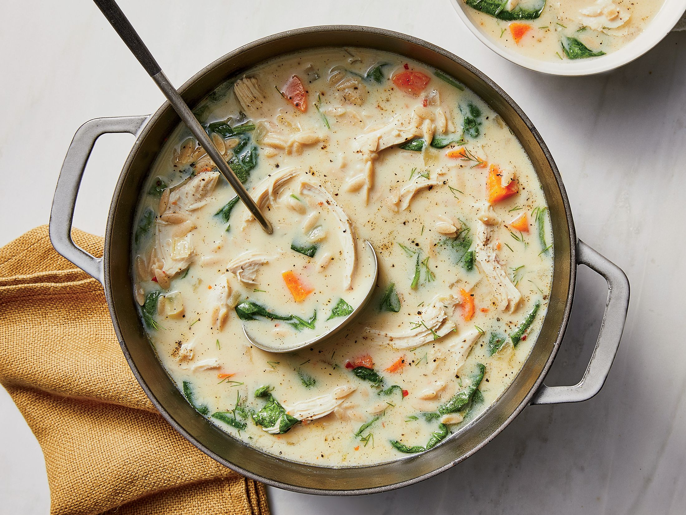 Lemony Greek Chicken Soup This 20minute dish provides
