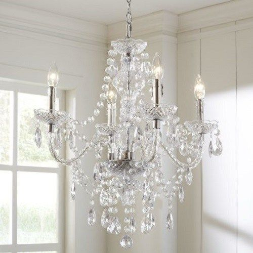 Gorgeous and Inexpensive Bedroom Chandelier Under $100 ...