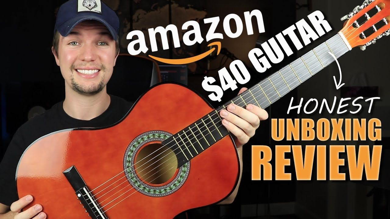 Amazons Best Selling 40 Acoustic Guitar Honest Unboxing Review 2020 Https Www Youtube Com Watch V B Jdzkrnlus Guitar Acoustic Guitar Guitar Reviews