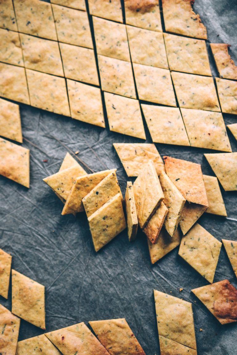 Kichererbsen-Cracker #dinnerideas