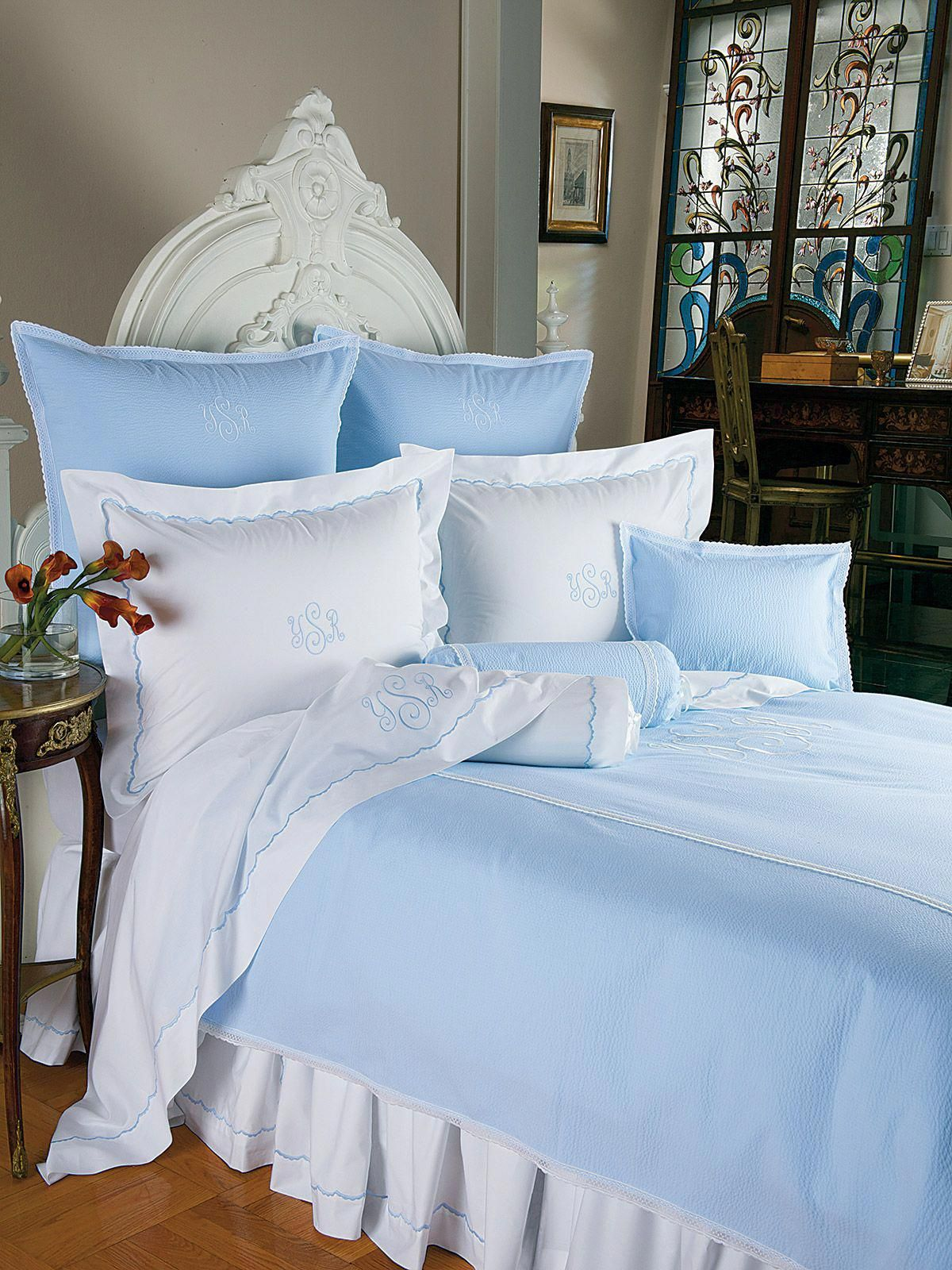 Old Fashioned Sheets Pillowcases Shams And Duvet Covers Are Traditionally Scalloped In White