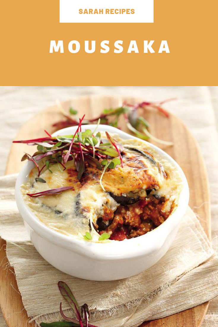 Moussaka This dish of Greek origin is perfect for a wholesome and delicious dinner.