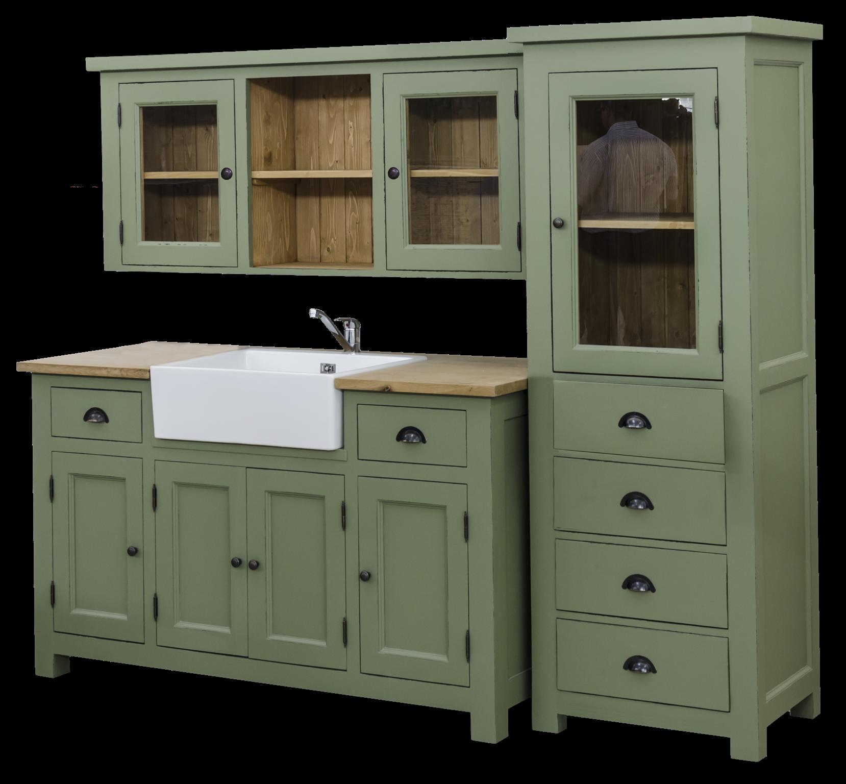Küche Shabby sideboard für waschbecken landhausstil landhaus küche shabby chic