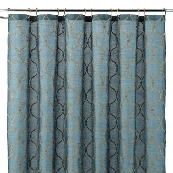 Royal VelvetR Geneva Shower Curtain