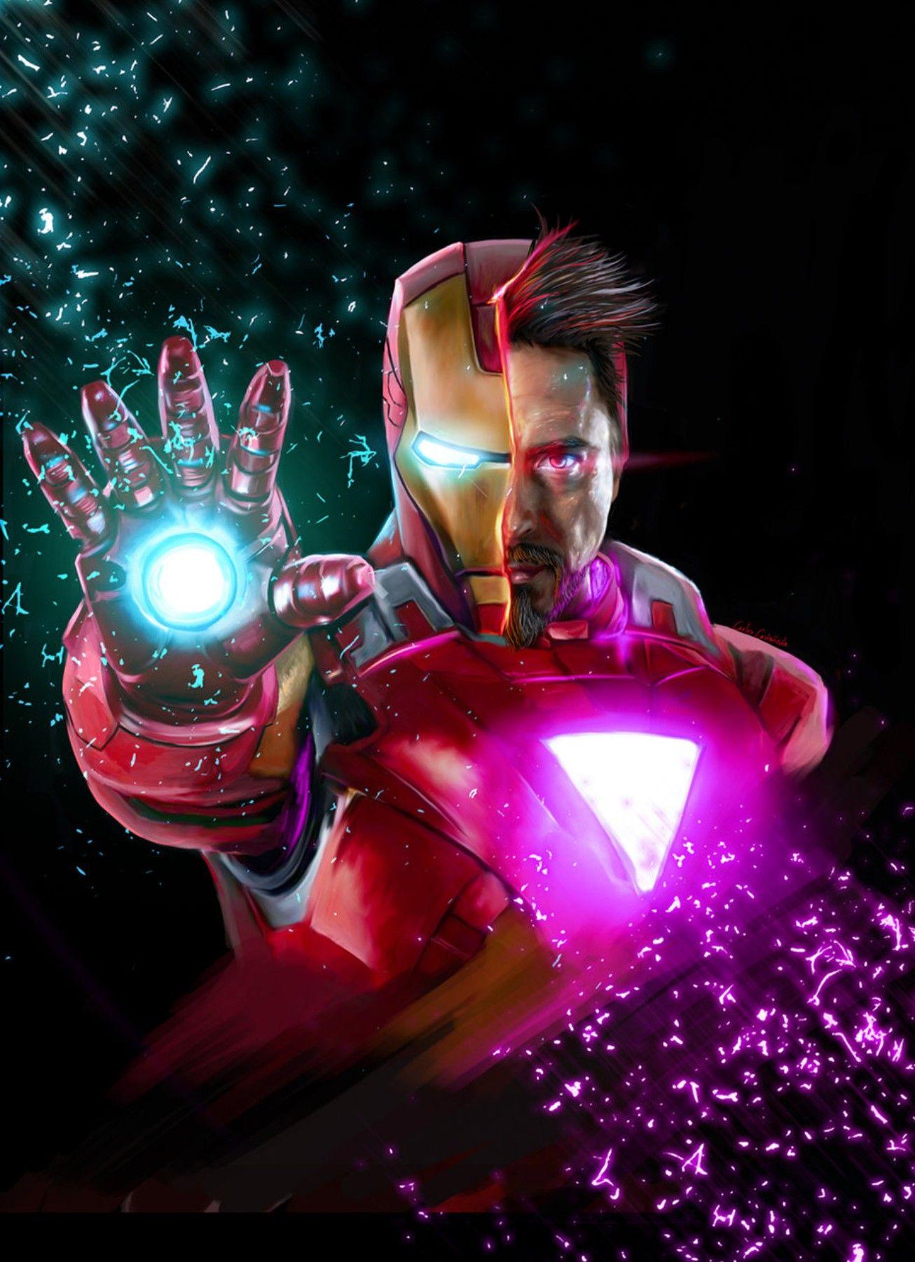 Iron Man, Tony Stark | Fond d'écran avengers, Films complets, Super héros marvel