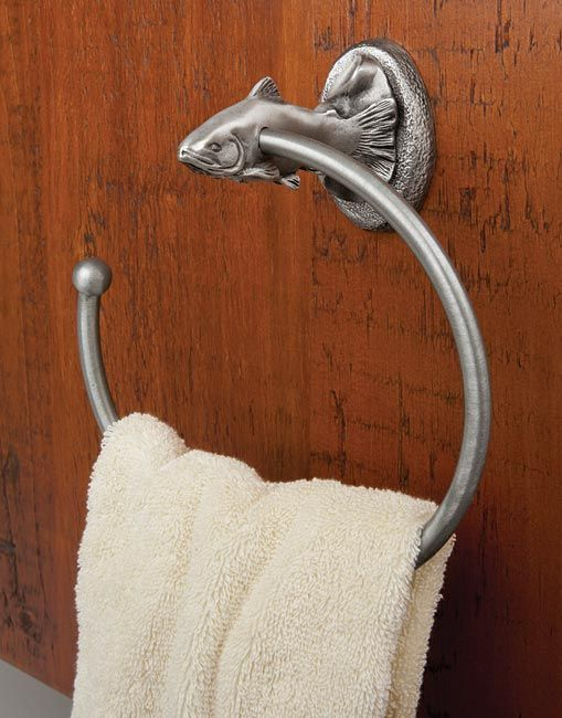 Just Found This Pewter Bathroom Accessories   Trout Bathroom Appointments     Orvis On Orvis.