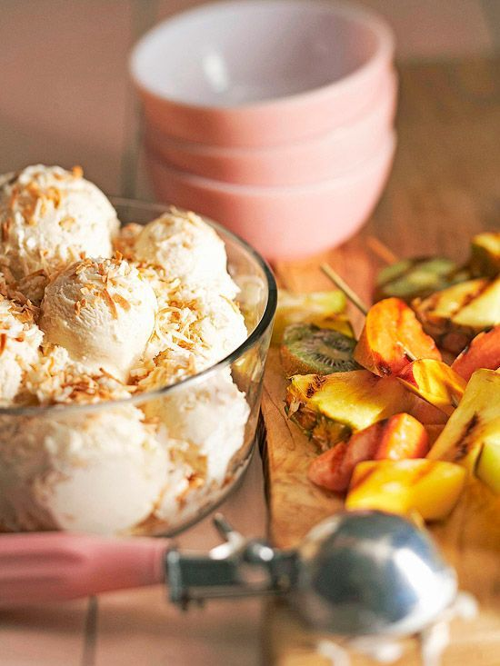 Must-Try Mexican Desserts That Serve Up Sweetness and Spice Grilled Pineapple Skewers with Ice Cream - Traditional Mexican DessertGrilled Pineapple Skewers with Ice Cream - Traditional Mexican Dessert
