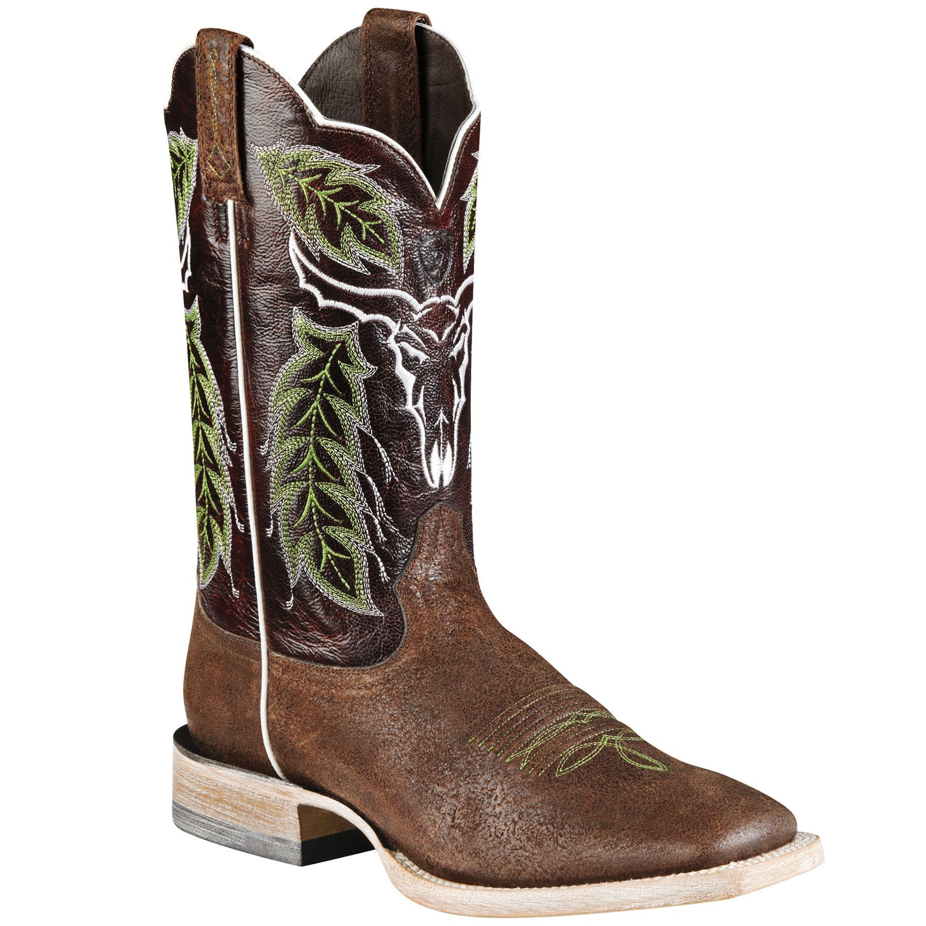 Another great find on Brown & Dark Bark Brown Outlaw Chico Cowboy Boot - Men  by Ariat