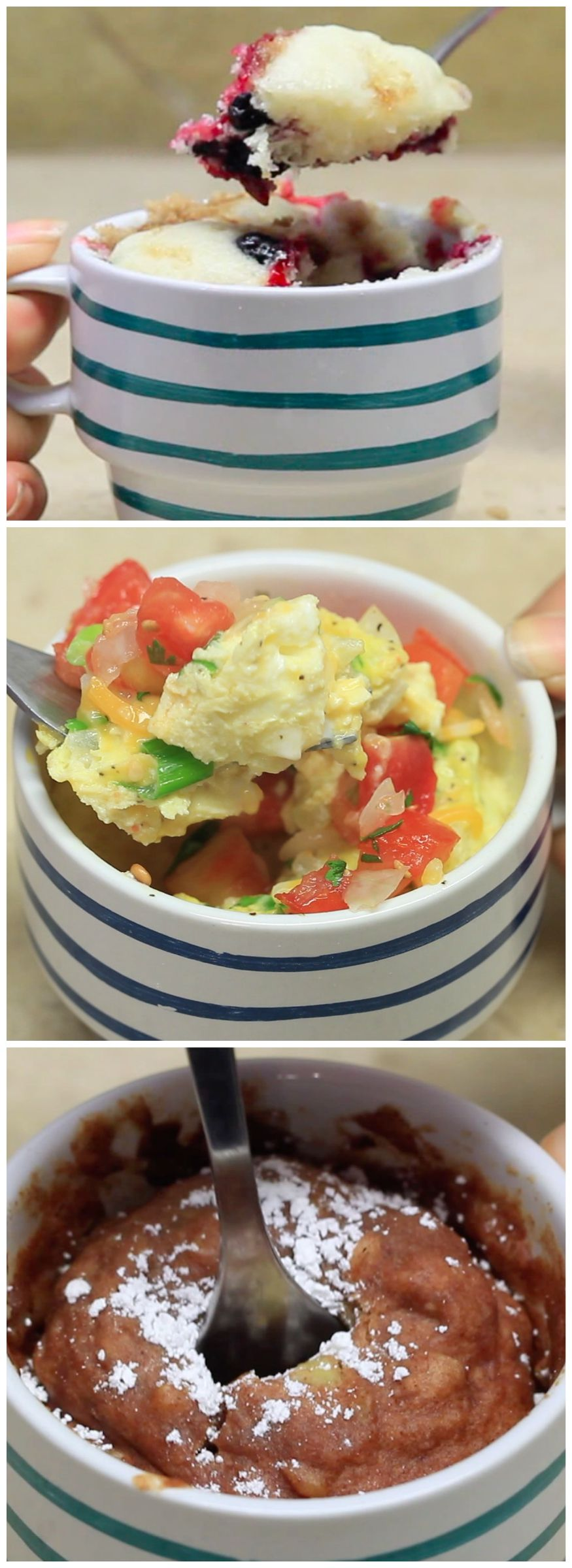 3 Breakfasts In A Mug Yummy breakfast