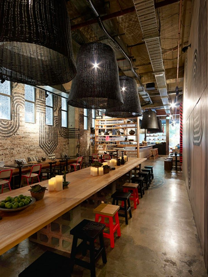Hotel con velas en australia for Raumgestaltung cafe