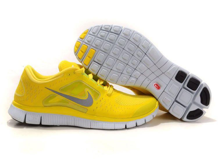 0de2af2f0672 com cheap nike shoes Nike Free Run 3 Size 11 Chrome Yellow Sail Reflect  Silver Men s Shoes