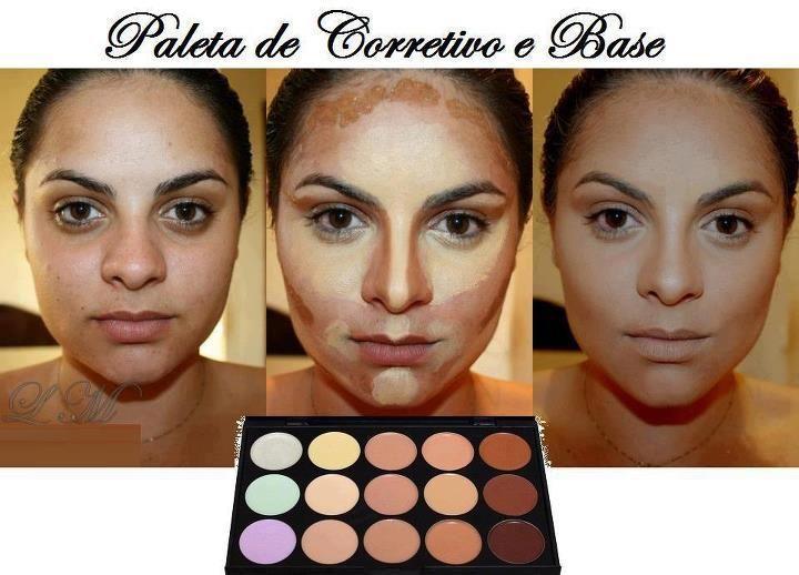 bases correctores de maquillaje