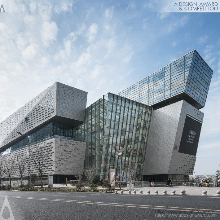 The Heart of Yiwu Shopping mall - Golden A' Design Award Winner for Architecture...