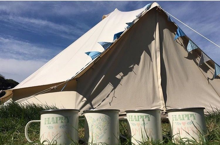 Bunty 5 metre bell tent from Karma canvas. & Bunty 5 metre bell tent from Karma canvas. | My Bell Tents | Pinterest