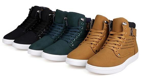 Del De Zapatos Nuevo Compre Cuero Hombre Para 2014 mNn0w8