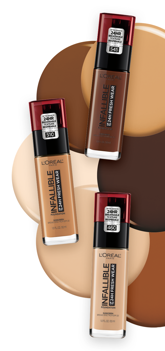 Shade Finder - L'Oréal Paris Infallible 24 Hour Fresh Wear