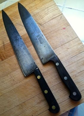 Thinking About Buying Sabatier Carbon Steel Knife Any Thoughts Cookware Carbon Steel Carbon Steel Knife Sabatier Knife