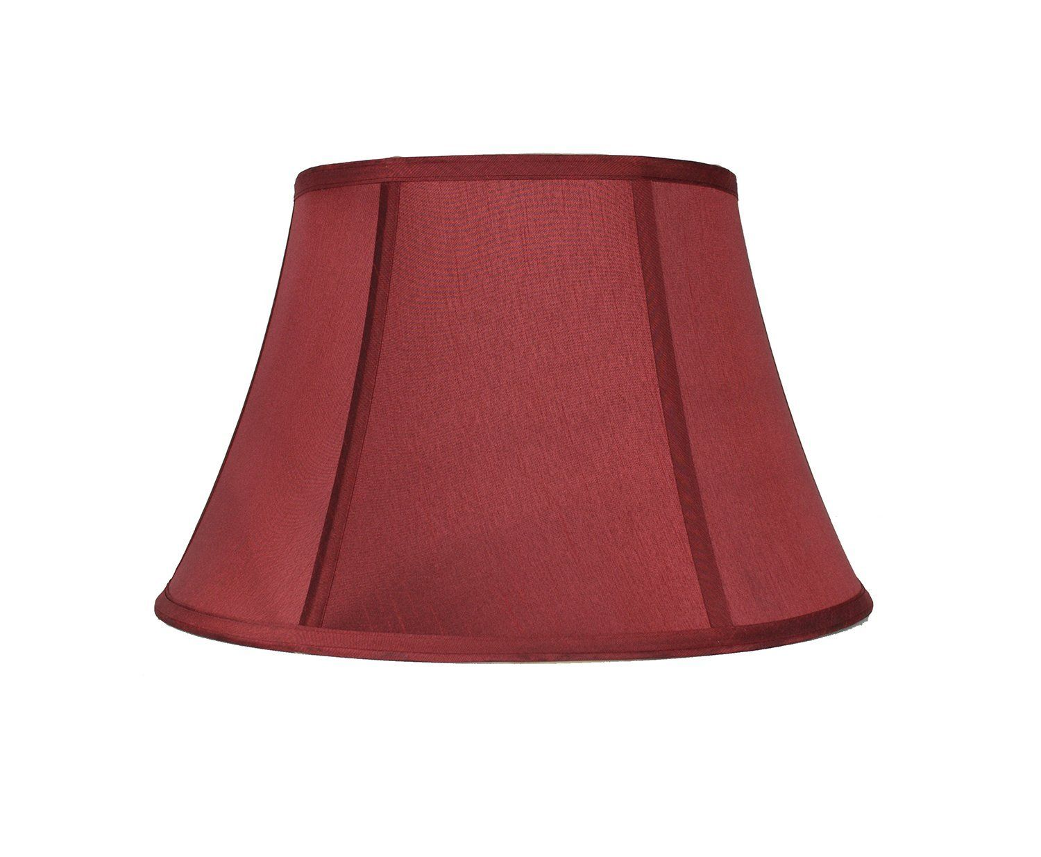 Urbanest Softback Bell Lampshade Faux Silk 12 Inch Burgundy Spider Read More Reviews Of The Product By Visiting The Link On Lamp Shade Lamp Lamp Shades