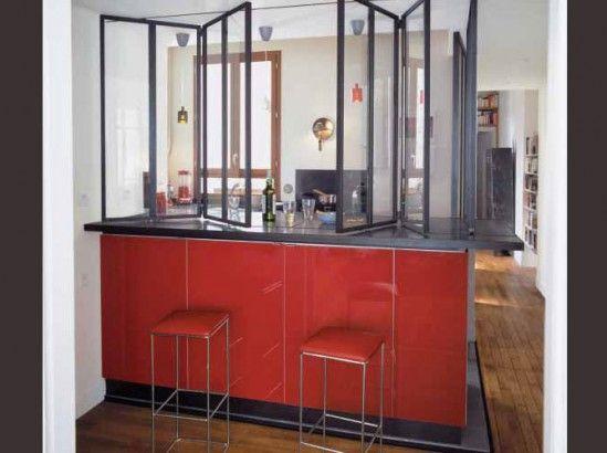 comment cr er une cuisine ouverte et bien pens e cuisine ouverte comment cr er et ouvert. Black Bedroom Furniture Sets. Home Design Ideas