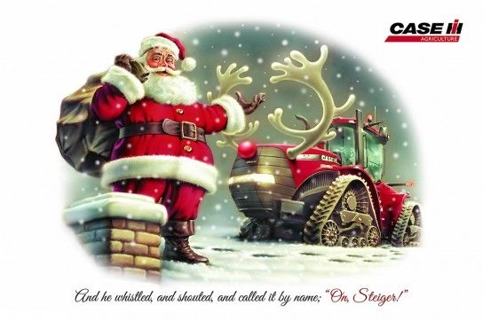 Image result for case christmas tractor