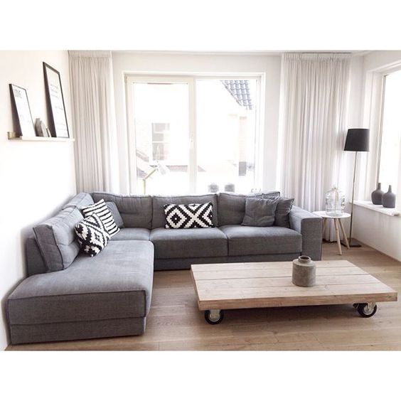 Grey Sectional Home Decor Inspiration Living Room Ikea Furniture