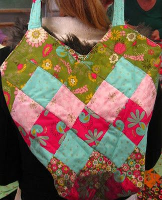 Sunset Coast:quilted bag purse