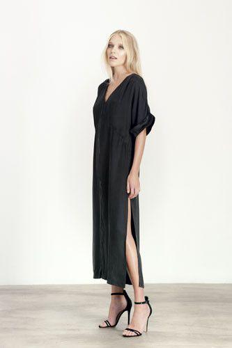 Elliatt Dress-Day/Night Abstract Long Side Slit