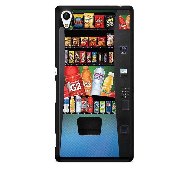 Vending Mechine TATUM-11641 Sony Phonecase Cover For Xperia Z1, Xperia Z2, Xperia Z3, Xperia Z4, Xperia Z5