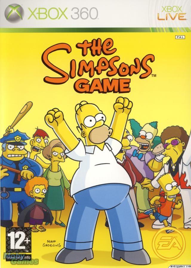 Aventura De Accion Los Simpsons Juegos Para Xbox 360 Xbox
