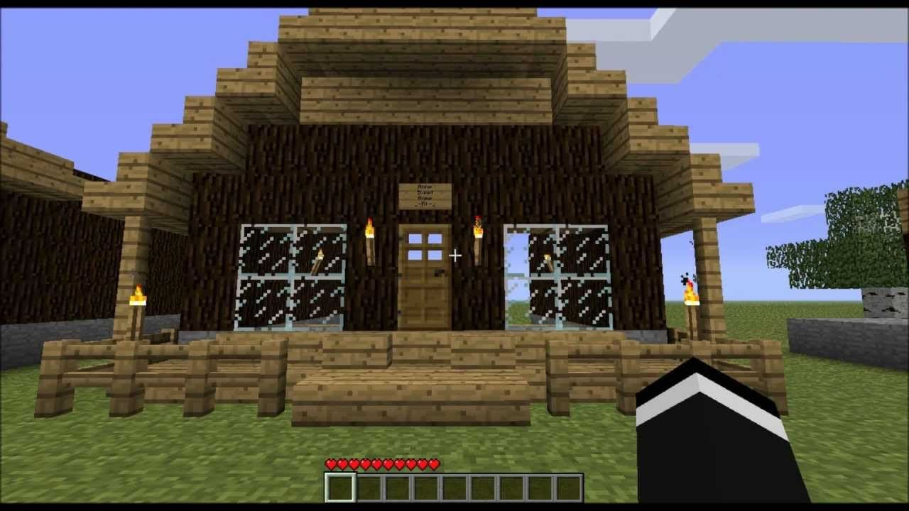 Minecraft Glass House Designs Google Search Wooden House