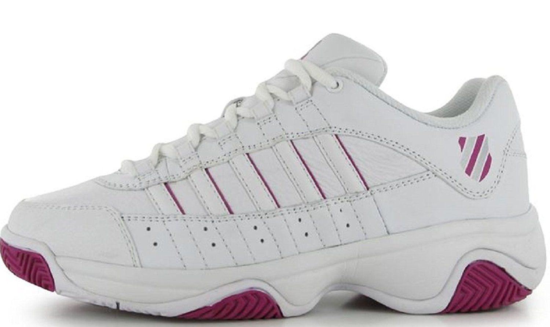 b04cd83cef128 Ladies K Swiss Court Blast Tennis Shoes White >>> Be sure to check ...
