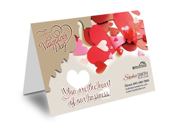 Real Estate Valentine's Day Cards, Real Estate Holiday Card Designs, Real Estate Holiday Card Ideas, Real Estate Holiday Card Printing, Real Estate Holiday Greeting Cards