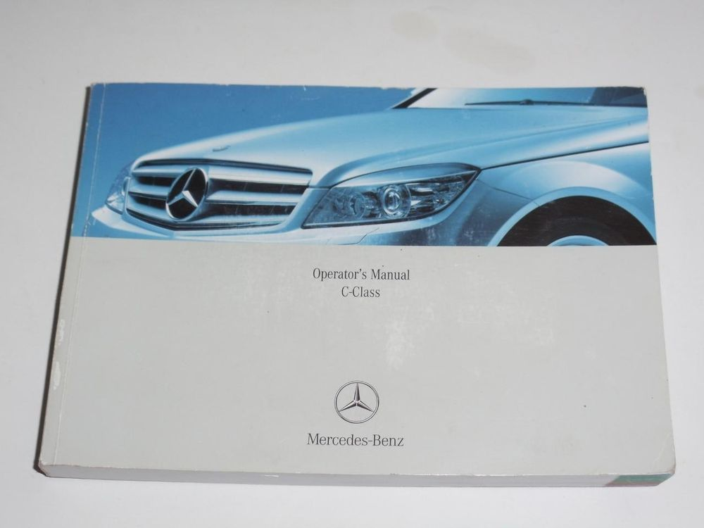2008 mercedes benz c class c230 c300 c350 owners manual book guide rh pinterest com 2008 Mercedes-Benz C300 4MATIC 2009 mercedes benz c300 repair manual