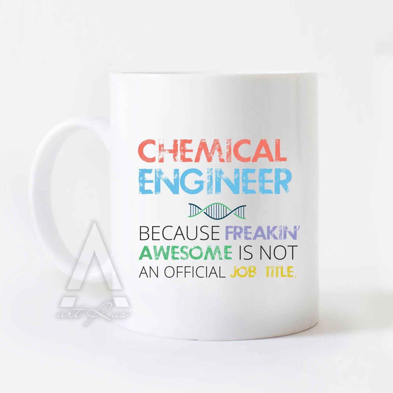 Christmas gifts for chemical engineers engineer mug