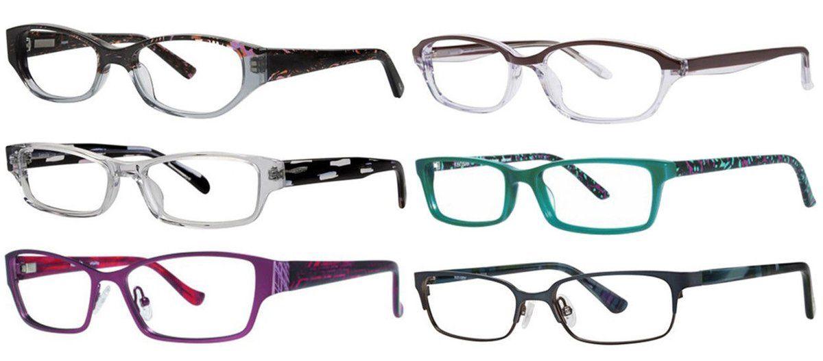 Details about Kensie Eyewear Women\'s Acetate & Metal Eyeglasses ...