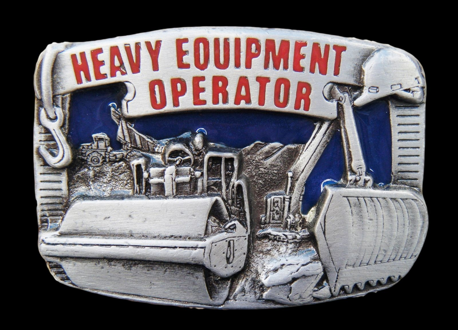 CATERPILLAR HEAVY EQUIPMENT TOOL OPERATOR BELT BUCKLE
